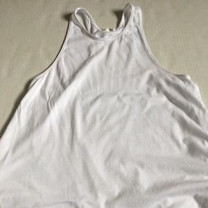 Aritzia Tops - Aritzia Wilfred Free White high neck tank top